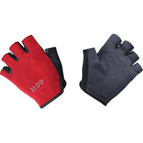 GORE WEAR C3 Short Gloves black/red